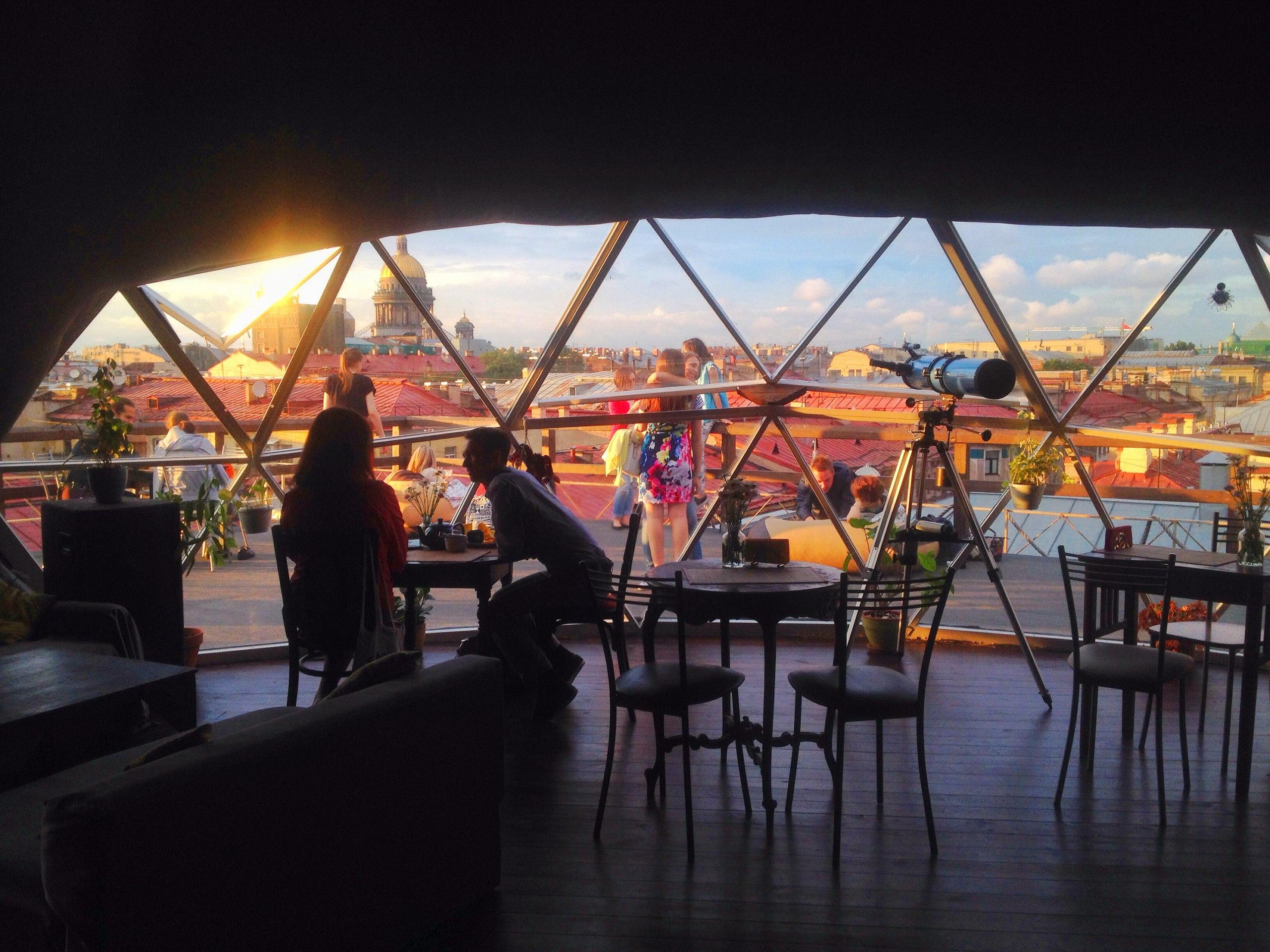 Летние рестораны с террасами в санкт-петербурге.